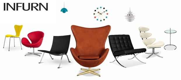 Grandi design a prezzo accessibile con infurn for Riproduzioni mobili design