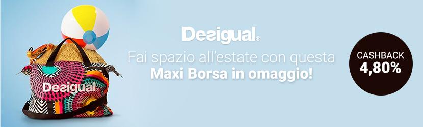 Regala Desigual Desigual Una Maxi Regala Borsa IDEYWH29